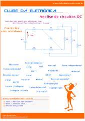 Clube da Eletrônica - Exercícios com Resistores.pdf