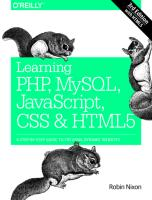 Learning PHP, MySQL, JavaScript, CSS & HTML5 A Step-by-Step Guide to Creating Dynamic Websites.pdf