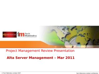 Alta Server Management-PMR-Mar'2011.pptx