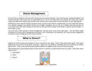 1 - V. I. STRESS MANAGEMENT MANUAL.doc