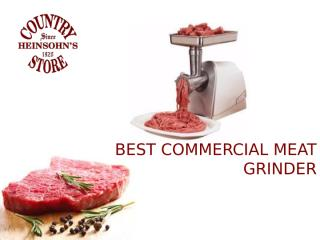 Best Meat Grinders.pptx