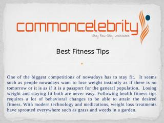 Best Fitness Tips.pptx