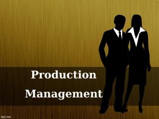 Mention situations in (a) banking, (b) advertising, (c) agriculture, and (d) hoteliering where production and operations management is involved.ppt
