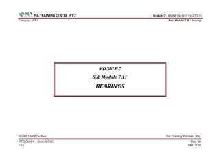 Module 7 (Maintenance Practices) Sub Module 7.11 (Bearings).pdf
