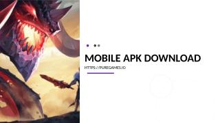 Mobile apk Download.ppt