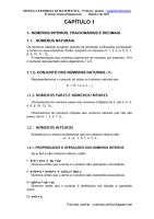 APOSTILA COMPLETA DE MATEMÁTICA - RESUMIDA