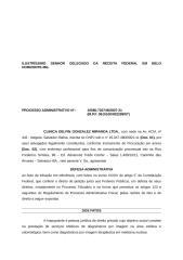 DEFESA ADMINISTRATIVA - Clínica Delfin  - Pis  Cofins Import.doc
