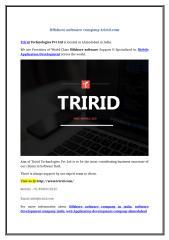 Offshore software company-tririd.com.doc