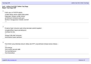 Soal Ukg TataBoga SMP.pdf