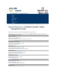 safety audit &check list.doc