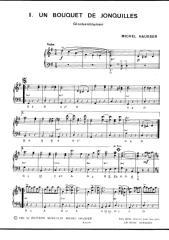 sheets-Michel Hausser - Un bouquet de jonquilles (Glockenblumen) (1er + 2ème Accordéon) (Valse).pdf