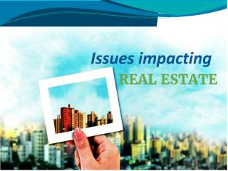 Issues impacting Real estate.pdf