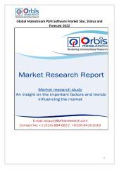 Mainstream PLM Software Market 2017-2022.docx