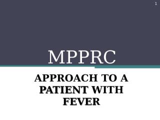MPPRC - group01 - fever.pptx