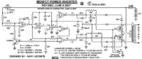 The following image is the schematic diagram of 1000W power inverter circuit: The circuit is based RFP50N06 MOSFET...