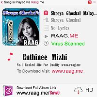Enthinee Mizhi-Shreya Ghoshal--Raag.Me--.mp3