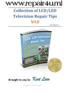 Collection of LCD LED TV Repair Tips V4.0 - Kent Liew.pdf