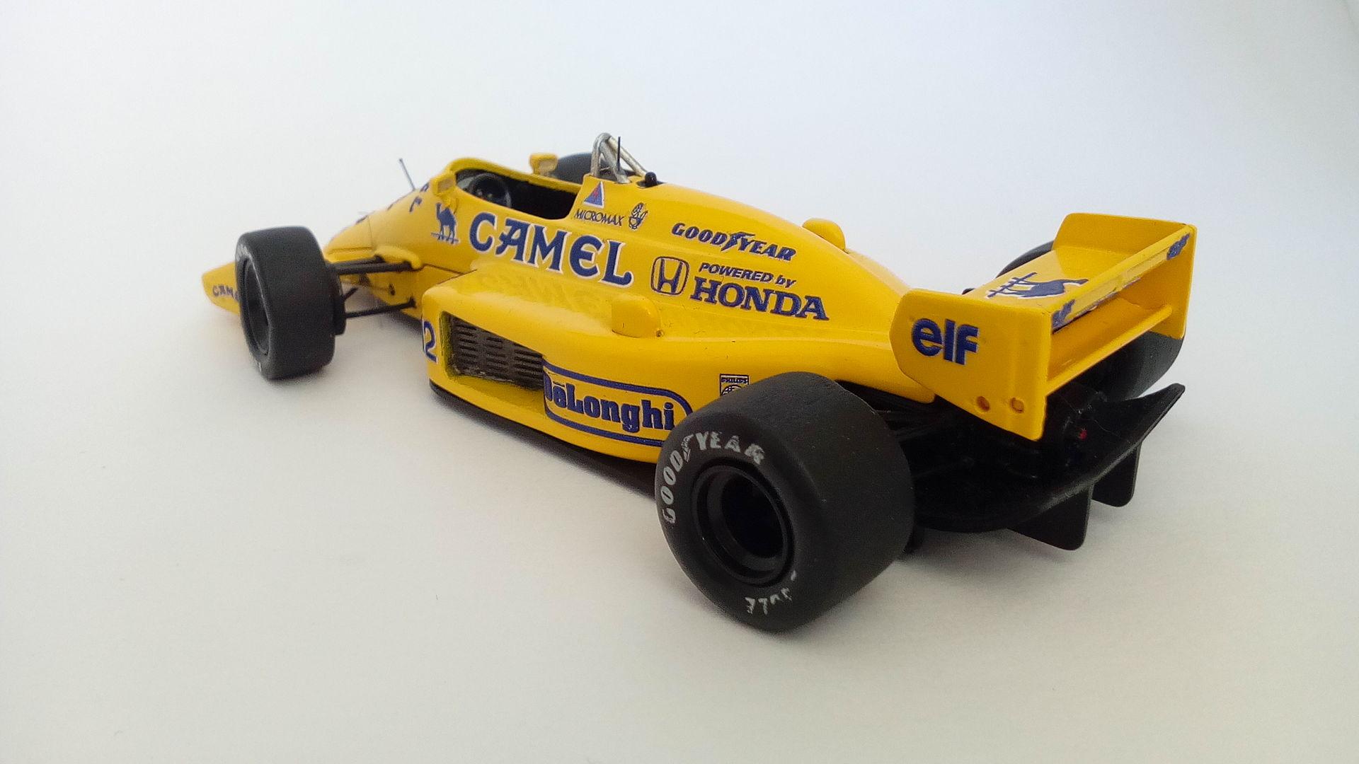 Formula 1 №9 - Lotus 99T - Сатору Накадзима (1987)