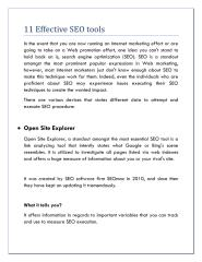 11 Effective SEO tools.pdf