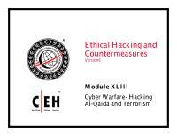 CEHv6 Module 43 Cyber Warfare- Hacking Al-Qaida and Terrorism.pdf