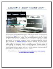 Ahmedabad - Basic Computer Course .doc