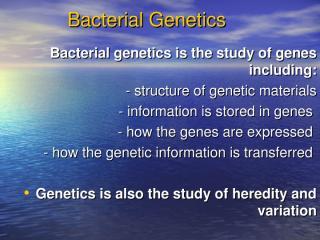 2-BaCTERIAL GENETICS.ppt