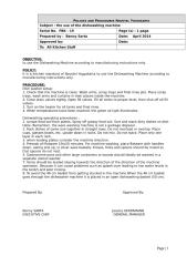 SOP the use of the dishwashing machine.doc